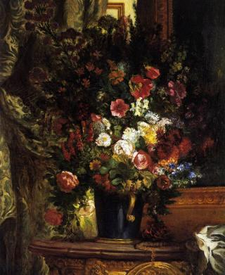 delacroix_vase_flowers_console_1848 by Flickr user ErgSap