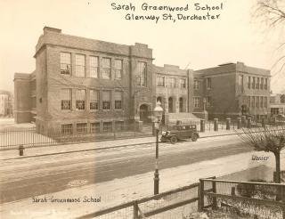 Sarah Greenwood School by Flickr user City of Boston Archives