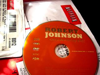 Robert Johnson DVD by Flickr user shannonpatrick17