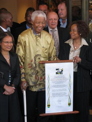 Nelson Mandela by Flickr user South Africa The Good News