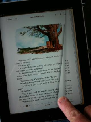 Turning a page on the iPad - the beginning to the end of the mouse as the primary ostension mechanism by Flickr user mikebaird