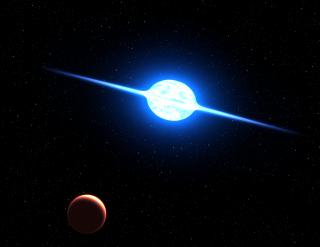 Fastest Rotating Star Found in Neighboring Galaxy by Flickr user NASA Goddard Photo and Video