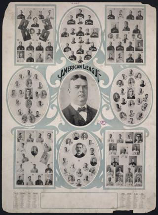 Teams of the American League by Flickr user Boston Public Library