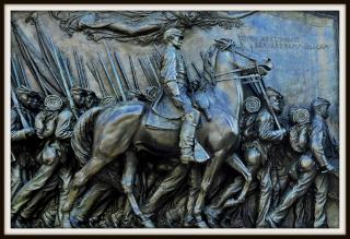 Glory: Shaw and the Black Soldiers of the Massachusetts 54th by Flickr user Tony Fischer Photography