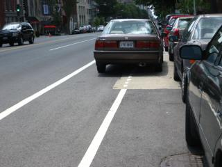 Mybikelane.com violation #5 by Flickr user tvol