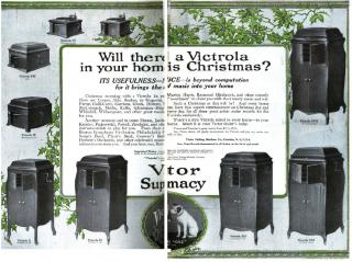A Victrola in your home this Christmas? - Victor Talking Machine Co. ad by Flickr user Thoth, God of Knowledge
