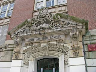 John Jay High School by Flickr user Mike GL
