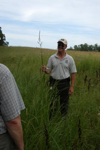 Project Leader Scott Glup at Pelican Lake WPA2 by Flickr user U.S. Fish and Wildlife Service - Midwest Region