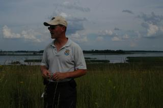 Project Leader Scott Glup at Pelican Lake WPA by Flickr user U.S. Fish and Wildlife Service - Midwest Region