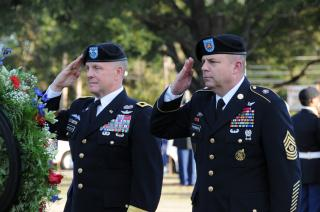Fort Rucker honors veterans by Flickr user Fort Rucker