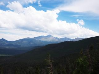 Longs Peak by Flickr user shonk