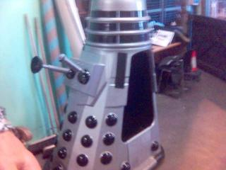 Upclose Dalek by Flickr user Jason Cartwright