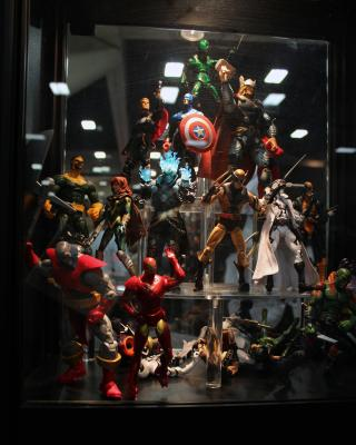 Marvel Universe Figures by Flickr user Ryan J. Quick
