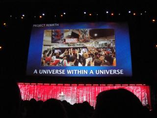 D23 Expo 2011 - Marvel panel - A Universe within a Universe by Flickr user Doug Kline