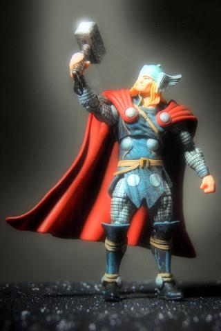 Thor by Flickr user mikequozl - Starting new job