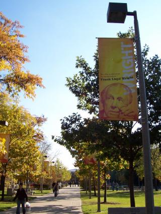 UIC Campus by Flickr user Paco Seoane