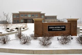 CNGC and Winter Storm Leon by Flickr user Georgia National Guard
