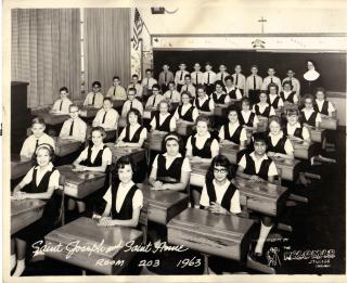 SJSA Grade Six -  The Year I Rebelled by Flickr user Michael 1952