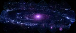 Best-ever Ultraviolet Portrait of Andromeda Galaxy by Flickr user NASA Goddard Photo and Video