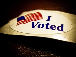 I Voted! by Flickr user Vox Efx