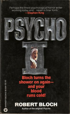 Robert Bloch 1982-09 Psycho II Front Cover by Frank Accornero by Flickr user CthulhuWho1 (Will Hart)
