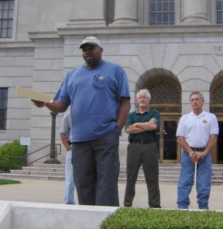 AR: Frank Williams, President, APRI Texarkana Chapter by Flickr user aflcio