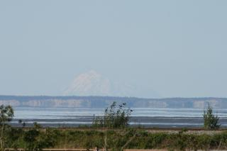 Redoubt Volcano seen from Anchorage by Flickr user Arthur Chapman