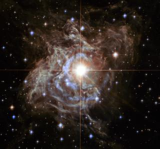 Hubble Watches Super Star Create Holiday Light Show by Flickr user NASA Goddard Photo and Video