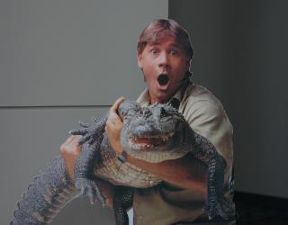 "Steve Irwin, ""Crocodile Hunter"" by Flickr user dbking"